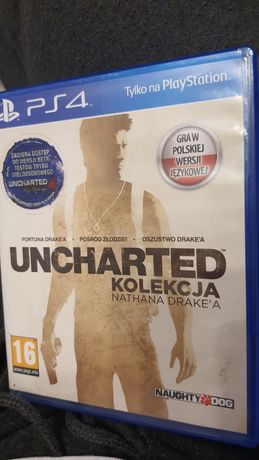 Uncharted kolekcja PL ps4