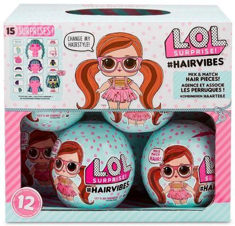 LOL HairVibes Surprise Laleczka Kolorowe Włosy Hairvibes