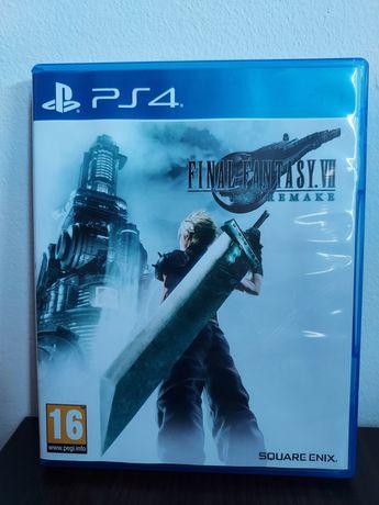 Final Fantasy VII PS4 English stan jak nowy