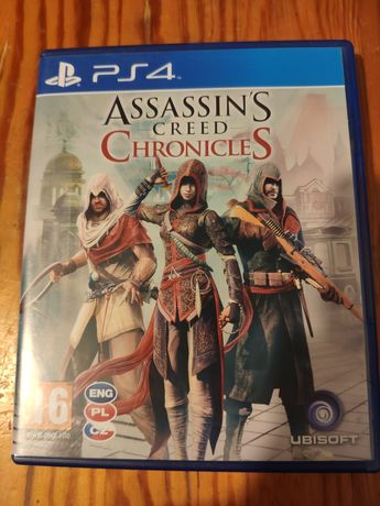 ps4 ps5 Assassin's Creed Chronicles PL płyta ps 4 ps 5 playStation 4 5