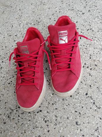 Buty Męskie Puma czerwone