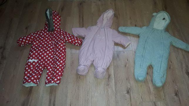 Ubranka dla dzieci rozmiar 56,62 ,68,74,80cm