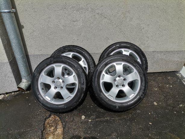 """Alufelgi 16"""" 5x112 BDB+Opony Zimowe Continental 205/55R16 Audi VW"""