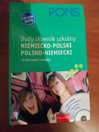 Słownik Duży Szkolny Niemiecko Polski Polsko Niemiecki Nauka