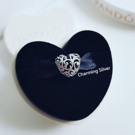 Шарм «Королевское сердце» арт: 797672 Pandora Пандора ОРИГИНАЛ