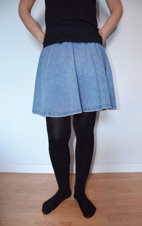 Fajna spódniczka jeansowa LOOK roz 34
