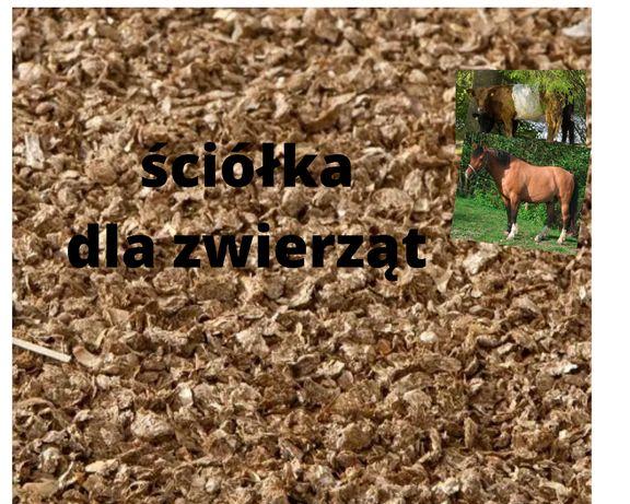 Ściółka kruszona ze słomy pszennej 15kg NOWOŚĆ Stajnia Kurnik