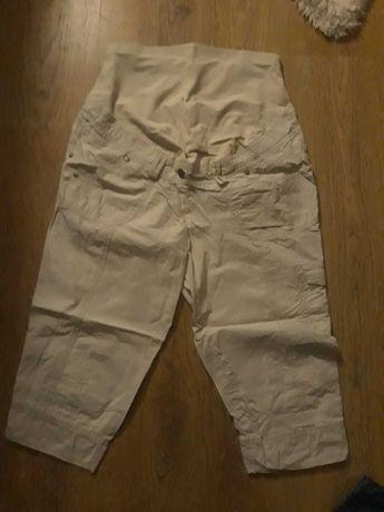 Spodnie ciążowe 36 C&A Yessica wiosna lato krótkie