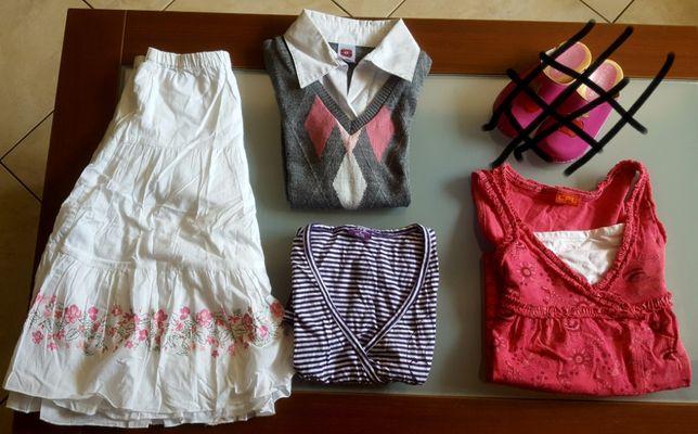 Zestaw dla dziewczynki 128-140 (4szt)