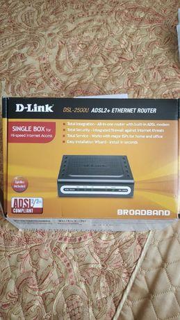 Роутер D-Link DSL-2500U ADSL2+