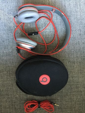 Beats by Dr Dre Solo - czerwone SPECIAL EDITION