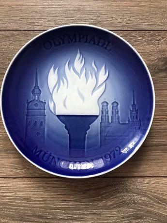 тарелка, сувенир, тарелочка Мюнхен Олимпиада