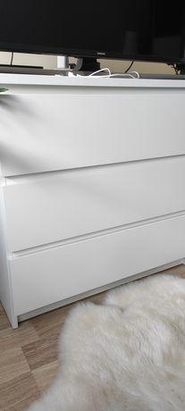 Komoda biała 3 szuflady
