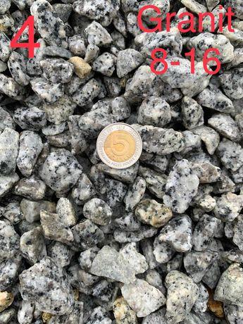 Grys granitowy 8-16, kamienie, kamień ozdobny