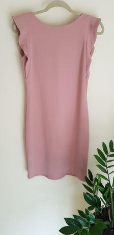 Pudrowy/brydny róż sukienka - Reserved