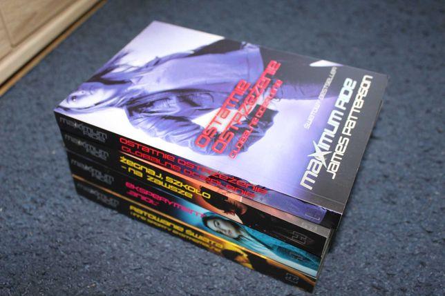 "Komplet książek ""Maximum Ride"" James Patterson"