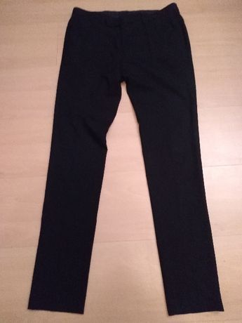Spodnie garniturowe - czarne W30/L30