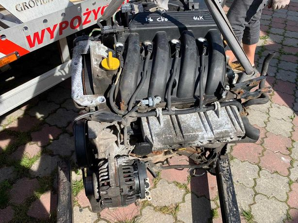 Silnik kompletny Renault 1.6 K4M Scenic megane Modus Kangoo