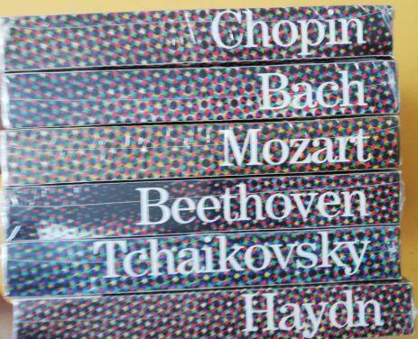 4 Cds grandes compositores de Música Clássica