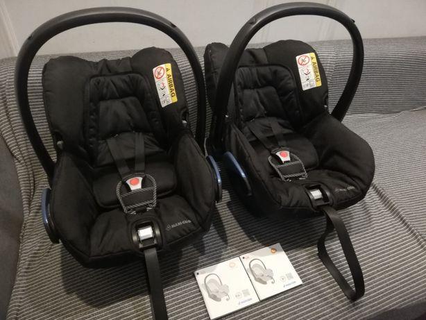 Fotelik samochodowy nosidło Maxi-Cosi City 0-13 kg 2 szt dla bliźniąt