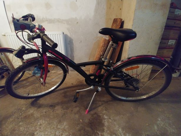 2 rowery dla dziewczynek BTWIN