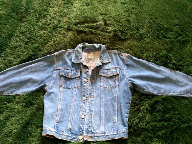 Підліткова джинсова куртка