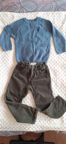 Spodnie i sweterk jak Nowe Next, H&M