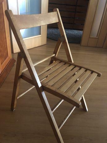 4 Cadeiras dobraveis madeira