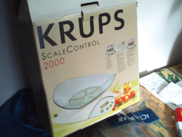 Balança Cozinha Krups Scale control 2000 nova