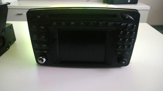 Radio mercedes comand2.0 +zmieniarka