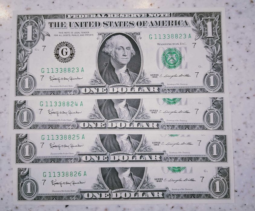 1 Dolar USA 1963 - 1969 Wydminy - image 1