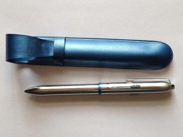 Шариковая автоматическая ручка,TOISON DOR,трёхцветная,Чехословацкая