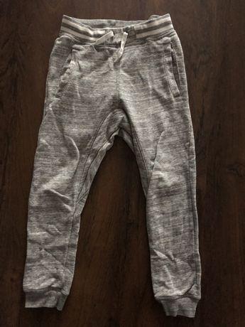 Spodnie H&M dresowe 134