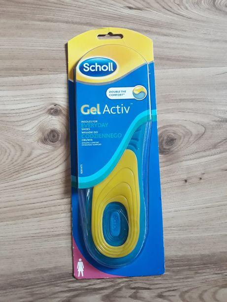 Scholl gelactiv wkładki do obuwia