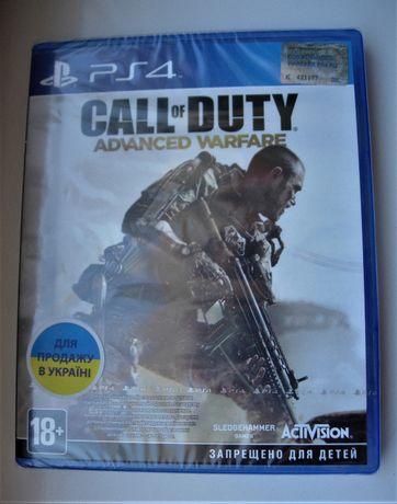 Call of Duty: Advanced Warfare. Новые Диски РS4, русские