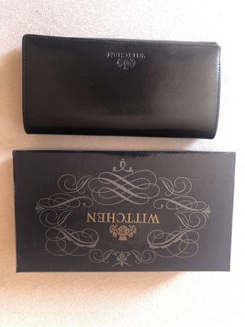 Wittchen portfel czarny