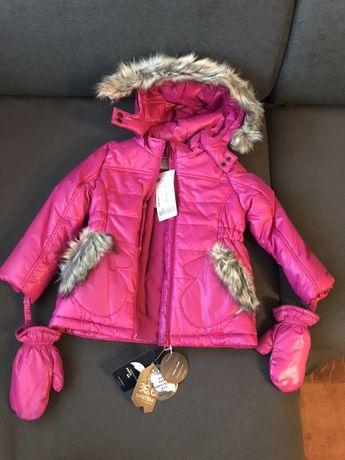 Nowa kurtka zimowa Coccodrillo CDRL rozm. 98 pasuje tez na 104