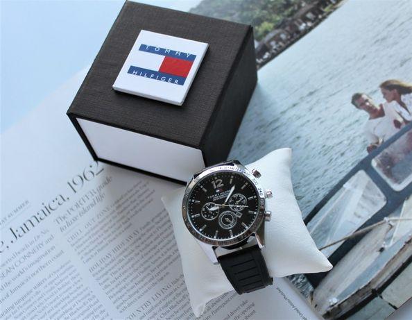Мужские часы Tommy Hilfiger в коробке black