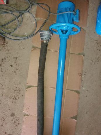 Pompa wałowa do gnojowicy szamba