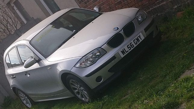 BMW 1 E87 116i N45 Titansilber Metalic 354 Części