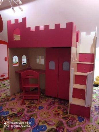 Super meble Zamek księżniczki dla dziewczynki - Baby Best