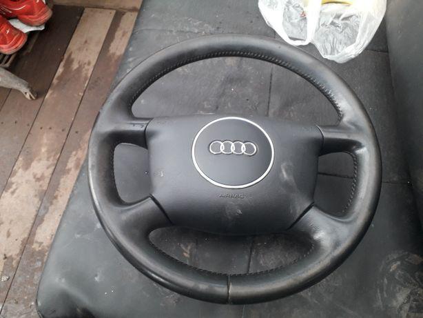 Kierownica Audi A6. C5. Lift. Skóra