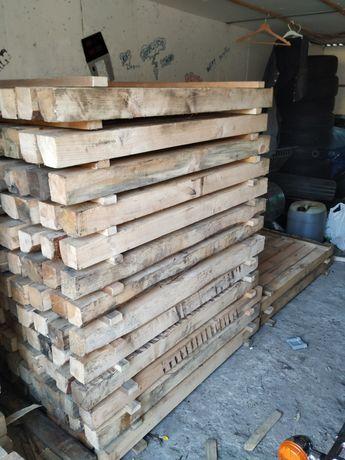 Kantówka, belka drewniana, sosna krawędziak konstrukcja 80X80X1200 mm