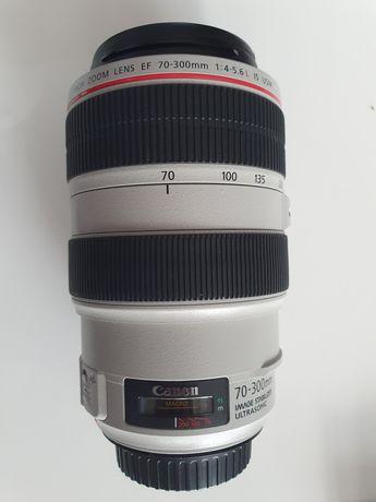 Canon EF 70-300 f/4-5.6 L is USM. Najtaniej
