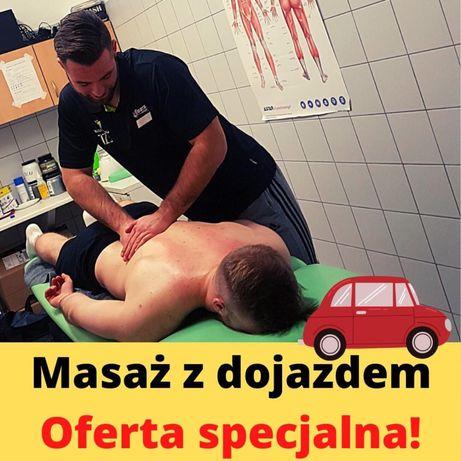 Fizjoterapia, masaż, rehabilitacja z dojazdem/w domu pacjenta.
