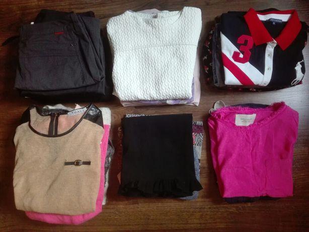 Mega zestaw paka ubrań rozmiar S/36/38 H&M, Ralph Lauren, Zara i inne