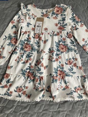 Newbie sukienka w kwiaty 98