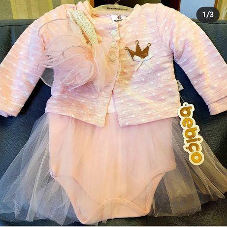 Боди-платье нарядное