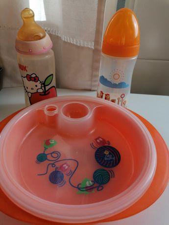 Conjunto de refeição para bebé