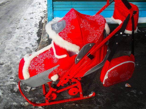 Санки - коляска Скользяшки Северные реальному покупателю торг